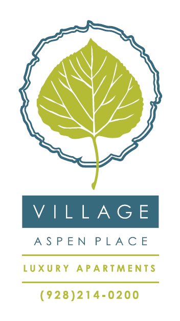 Logo of an aspen leaf